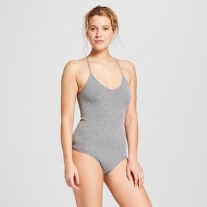 NWOT Seamless T-Back Bodysuit Gilligan & O'Malley